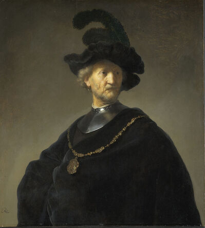 Rembrandt van Rijn, 'Old Man with a Gold Chain', 1631