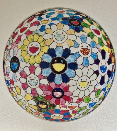 Takashi Murakami, 'The Flowerball's Painterly Challenge', 2016