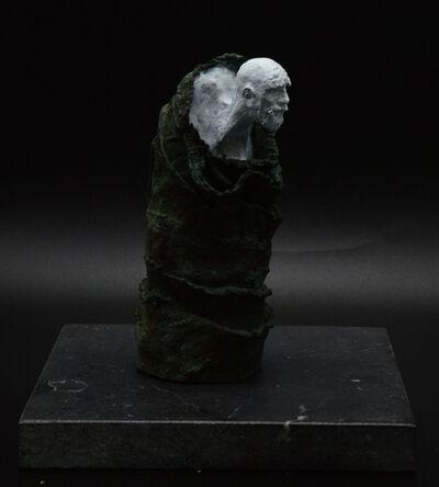 Alberto Letamendi, ''Metamorfosis III' Bronze Figurative Sculpture', 2021