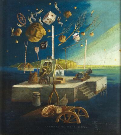 Milić Od Mačve, 'Surrealist landscape', 1974-75