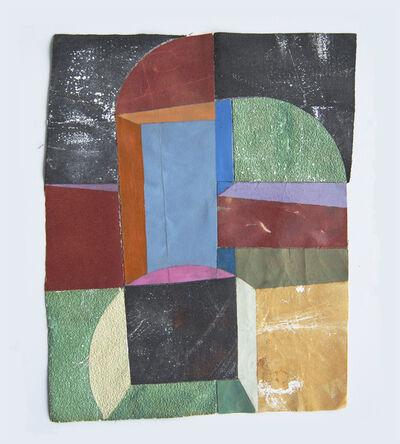 Marian Bijlenga, 'Sandpaper collage', 2018