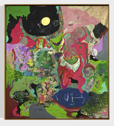 Michael Bauer, 'Cave and Moon (unpopular)', 2018
