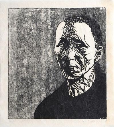 Leonard Baskin, 'Portrait of Bertolt Brecht', ca. 1970