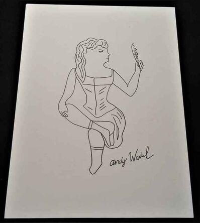 Andy Warhol, '4 Ink Drawings', Unknown