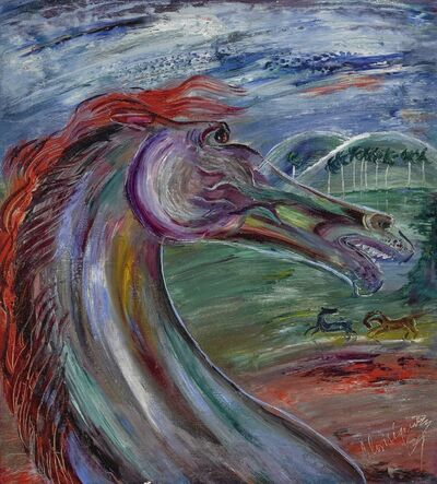 Carlos Enriquez, 'Cabeza de caballo'