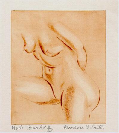 Clarence Holbrook Carter, 'Nude Torso', ca. 1980