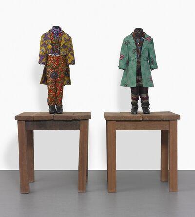 Yinka Shonibare CBE, '19th Century Kid (Benjamin Disraeli); 19th Century Kid (William Gladstone)  [Two Works]', 2000