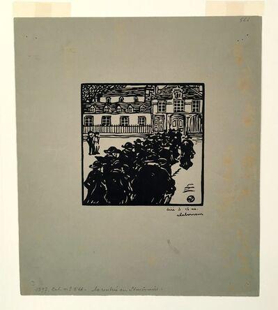 Jean-Emile Laboureur, 'La Rentrée au Séminaire', 1897
