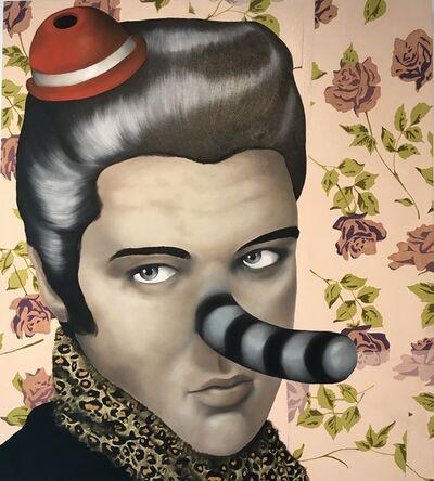 Massimo Gurnari, 'Elvis Costello travestito', 2010