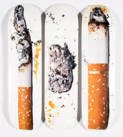 Supreme, 'Cigarette (three works)', 2016