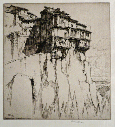 Ernest David Roth, 'CUENCA - THE CLIFF DWELLERS', 1921