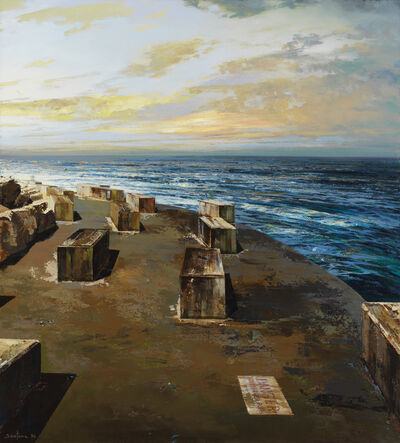 Santana, 'Danger, Submerged Rocks', 1996