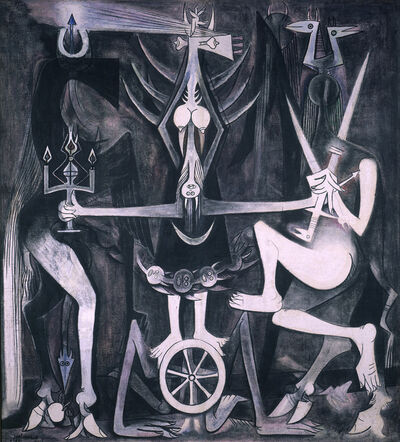 Wifredo Lam, 'Les Noces (The Wedding)', 1947