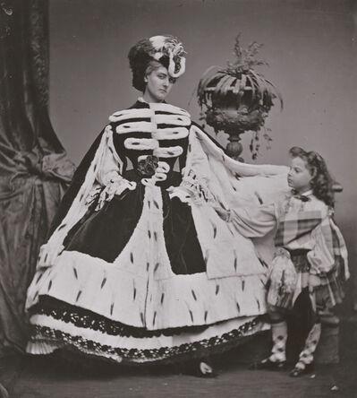 Pierre-Louis Pierson, 'Countess de Castiglione and Her Son George', 1863/1930s