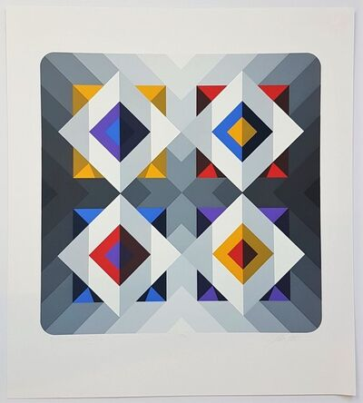 Marko Spalatin, 'Quantum VI (Abstract Geometric Composition)', Unknown (approx. late 90s early to 2000s)