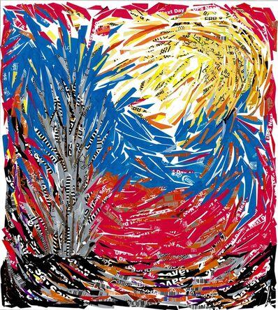 Sam Ben-Meir, 'Landscape in Red'