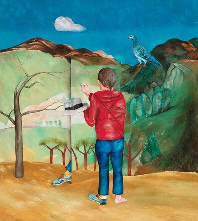 Breyten Breytenbach, 'peintre du dimanche peintre de dimanche', 1985