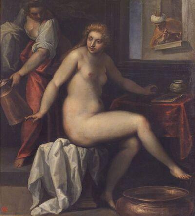 Jacopo Palma il Giovane, 'David  and Betsabea', 14th Century