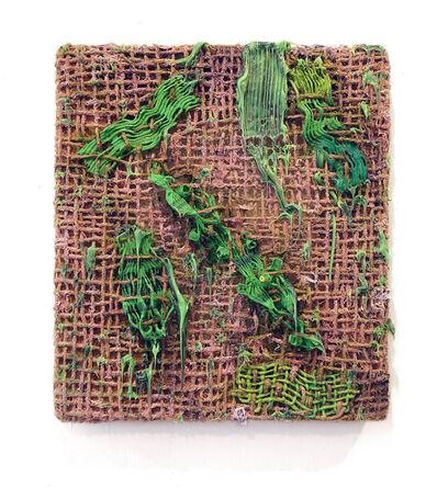 Fabian Marcaccio, 'Interwoven Brushstrokes (green)', 2014