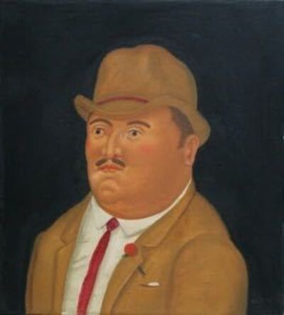 Fernando Botero, 'Cabeza de Hombre ', 1980