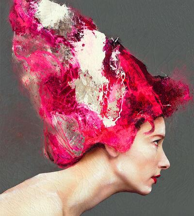 Lita Cabellut, 'Coral Girl 13', ca. 2016