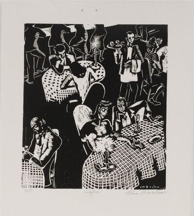 Lou Barlow, 'Café Scene', ca. 1935