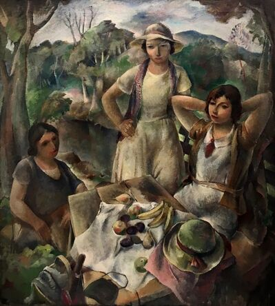 Walter Vladimir Rousseff, 'Outing', ca. 1931