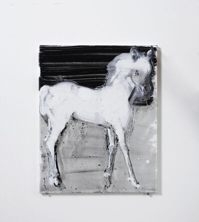 Ilona Szalay, 'White Horse', 2016