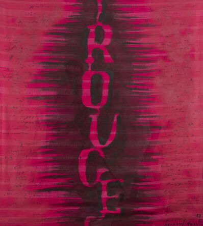 Bernard Quentin, 'Rouge', 1983