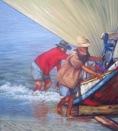 Edite Osztrovszky, 'Coming Back from the Fishery ', 2012