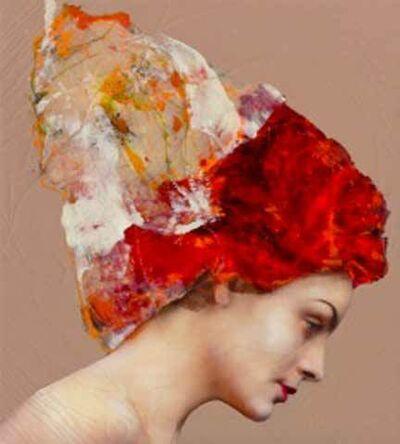Lita Cabellut, 'Coral Flowers 01', 2015