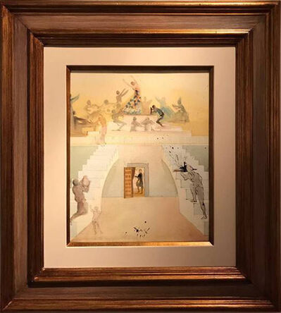 "Salvador Dalí, 'Triumph of the Toreador (for the opera Carmen act IV ""Lillas Pastia's Tavern"")', 1969"