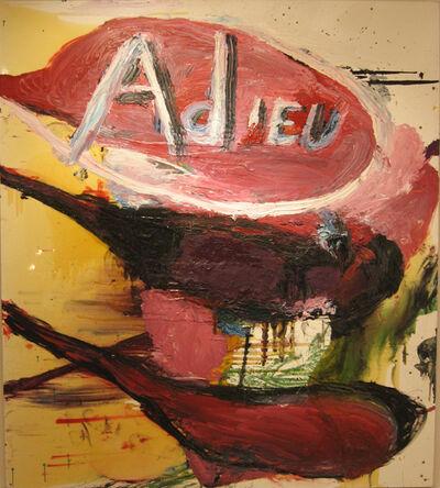 Julian Schnabel, 'Adieu', 1995