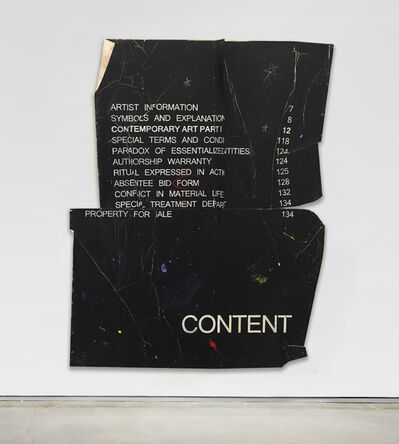 Ryan Brown, 'CONTENT', 2017