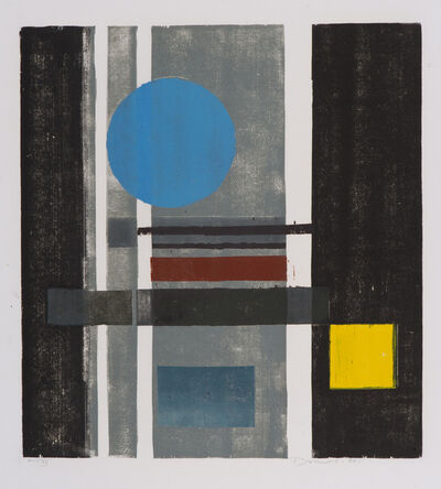 Werner Drewes, 'Circle and Square', 1980