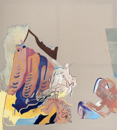 Florentijn de Boer, 'Orange to blue, animal brains wet', 2019