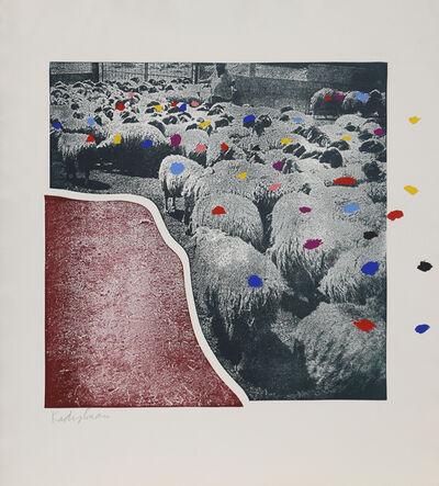 Menashe Kadishman, 'SHEEP Portfolio, 5', 1981