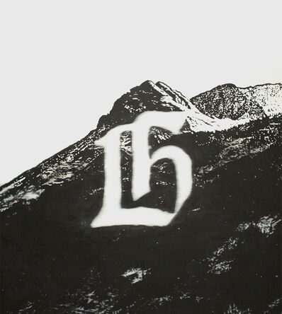 Joseph Malfettone, 'Peak With Letter', 2013