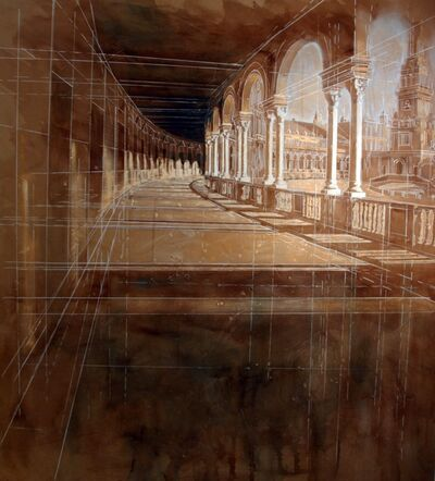 Javier Bajo, 'Columns II', 2019