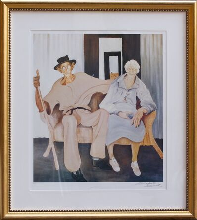 Elizabeth Durack, 'Golden Wedding ', 1935-2000