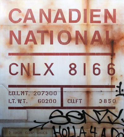 Tim Conlon, 'Blank Canvas #77 - CNLX', 2017