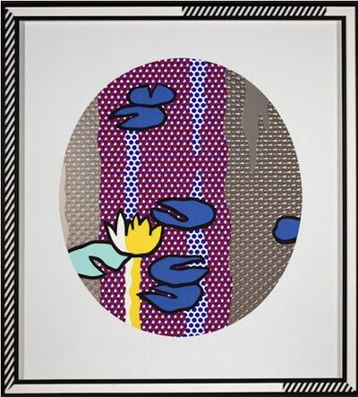 Roy Lichtenstein, 'Water Lilies-Blue Lily Pads', 1992