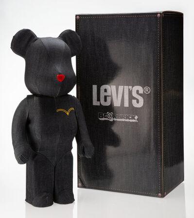 BE@RBRICK X Levi's, 'Dark Denim 1000%', 2010
