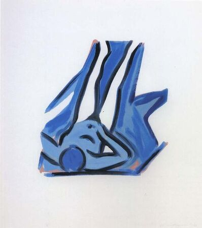 Tom Wesselmann, 'Blue Nude #2', 2001