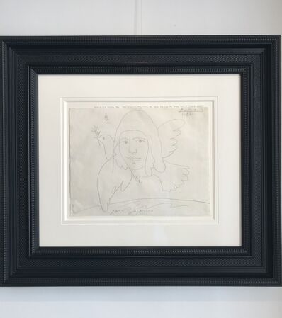 Pablo Picasso, 'Le Visage et la Colombe de la Paix', 1961