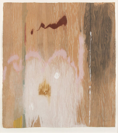 Helen Frankenthaler, 'Tales of Genji VI (only sold as part of the complete suite of six woodcuts)', 1998
