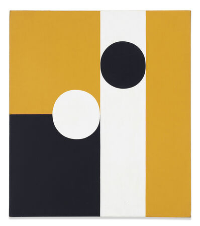 Frederick Hammersley, 'Half of Half #6', 1960