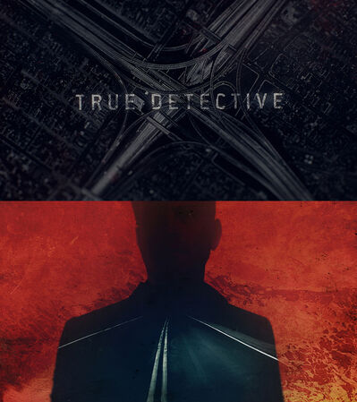 Elastic TV, 'Still from title sequence, True Detective, Season 2', 2015