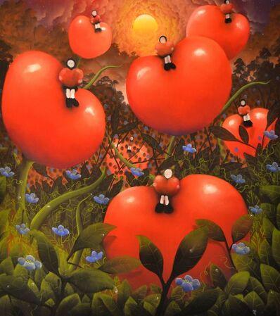 MacKenzie Thorpe, 'Love's Jungle ', 2014