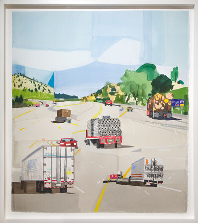 Jonas Wood, 'NW Road', 2006
